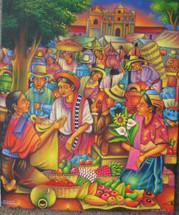 Antonio Coche Mendoza -- Mercado de Chichicastenango