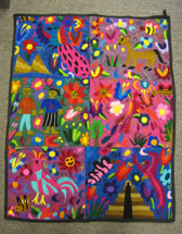 Chichicastenango Embroidery Panel #1