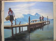 Feliciano Bal -- On Lake Atitlan