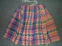 Quetzaltenango Draw-String Skirt of Double Ikat