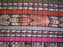 Corte #30 -- Woman's Colorful Ikat corte