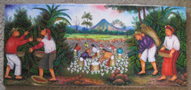 Antonio pur Gonzalez --  Harvesters, Atitlan
