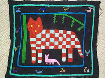 Santiago Atitlan Embroidery Panel #5