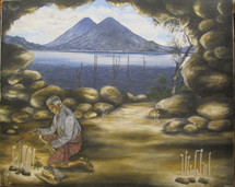 Francisco Sajvin -- Mayan Ceremony Lake Atitlan