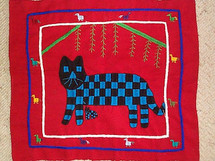 Santiago Atitlan Embroidery Panel #11