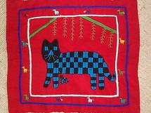 Santiago Atitlan Embroidery Panel #11