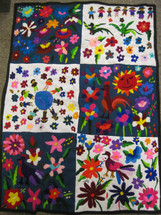 Chichicastenango Embroidery Panel #6