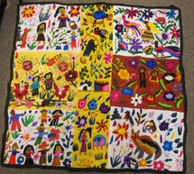 Chichicastenango Embroidery Panel #7