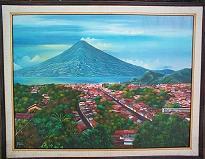 Oscar Peren -- View of Atitlan