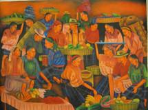 Antonio Vasquez Yojcom -- Traditional Mayan Market