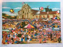 Unknown artist -- La Feria, San Juan Comalapa