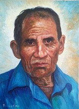 Juan Manuel Sisay -- Portrait of his Grandfather (#2)