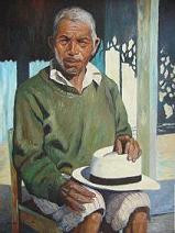 Juan Manuel Sisay -- Man with Green Sweater