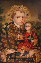 Saint Anthony with the Baby Jesus