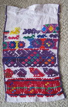 San Pedro Sacatepequez Cofradia cloth #1