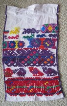 San Pedro Sacatepequez Cofradia cloth #1