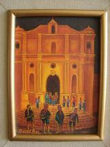 Omar Bal -- The Church at Chichicastenango #1