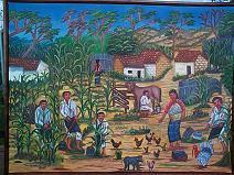 Oscar Peren -- Farm Life in Comalapa
