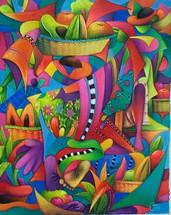 Julian Coche Mendoza -- The Market