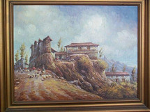 Oswaldo Moncayo -- Highland Andean village