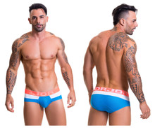 0455* JOR Men's Athletic Briefs Color Turquoise