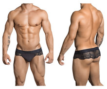 99304 CandyMan Men's Thong Color Black