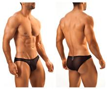 JS01 Joe Snyder Men's Bikini Classics Color Black Mesh