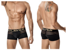 2210* Clever Men's Ammolite Latin Boxer Color Black
