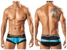 1555* PPU Men's Wave Brief Color Black