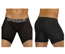 EW0711 ErgoWear Men's FEEL Modal Long Boxer Brief Color Black