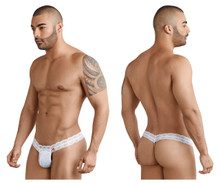 8047* Pikante Men's Amateur Thong Color White