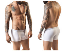 2219 Clever Men's Basic Boxer Color White