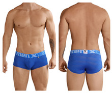 41310 Xtremen Men's Stripes Brief Color Blue