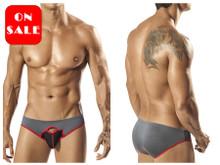 1560* PPU Men's Durden Bikini Color Gray