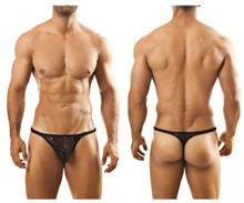 JS03 Joe Snyder Men's Thong Color Black Lace
