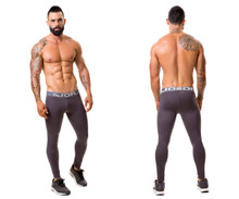 0375 JOR Fitness Athletic Pants Color Gray