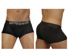 EW0712 ErgoWear Men's FEEL Modal Boxer Briefs Color Black