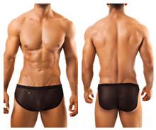 JS09 Joe Snyder Men's Boxer Shorts Color Black Mesh