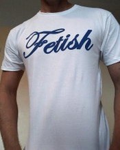 Fetish Cotton T-shirt Color White