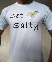 Get Salty Cotton T-shirt Color White
