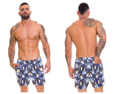0666 Arrecife Beachwear by JOR Penguin Swim Trunks