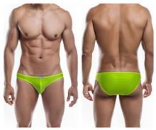 JS01-Pol Joe Snyder Men's Polyester Bikini Classic Color Yellow