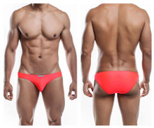 JS01-Pol Joe Snyder Men's Polyester Bikini Classic Color Watermelon