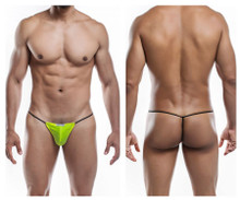 JS02-Pol Joe Snyder Men's Polyester G-String Color Yellow