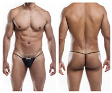 JS02-Pol Joe Snyder Men's Polyester G-String Color Black