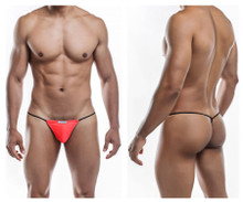 JS02-Pol Joe Snyder Men's Polyester G-String Color Watermelon