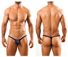 JSBUL02 Joe Snyder Men's Bulge Tanga Thong Color Navy
