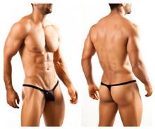 JSBUL02 Joe Snyder Men's Bulge Tanga Thong Color Black