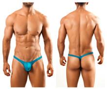 JSBUL02 Joe Snyder Men's Bulge Tanga Thong Color Turquoise