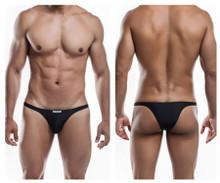 JS07-Pol Joe Snyder Men's Polyester Capri Bikini Color Black